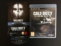 jeux SONY PLAYSTATION 3  PS3 CALL OF DUTY GHOSTS  TBE