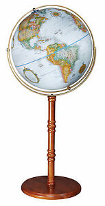 Replogle Edinburgh II 16 Inch Floor World Globe