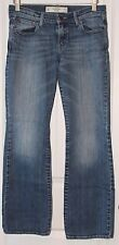 Women's-Junior Abercrombie & Fitch Blue Stone Wash Jeans Size 27/31-4S
