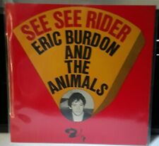 """ERIC BURDON AND THE ANIMALS. SEE SEE RIDER. RARE FRENCH 7"""" 45 EP 1966 R&B PSYCH"""