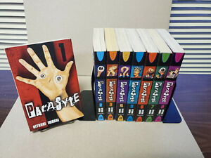 Parasyte 1-8 Complete Del Ray US English Manga Set Parasite Out of Print Good