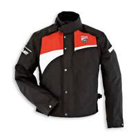 DUCATI Dainese CORSE LOGO Tex Jacke Textiljacke Jacket schwarz rot NEU !!