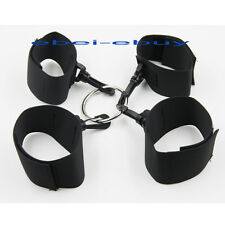Nylon Bondage Hogtie Poignet & Cheville Menottes Ajustable Velcro Fetish Play U3