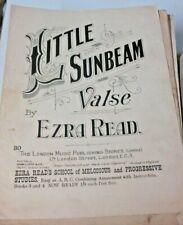 little sunbeam valse  piano score