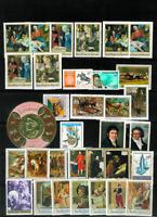 Burundi & Rwanda Selection of Mint Never Hinged with Sets, Imperfs. 1960's-70's