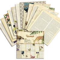 12Pcs 6'' Vintage Paper Pad Scrapbooking Planner Card Making Journal Album DIY