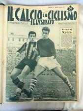 IL CALCIO E IL CICLISMO ILLUSTRATO ANNATA COMPLETA RILEGATA 1952 Rivista Sport