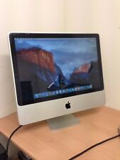 "20"" Apple iMac 2.4GHz 4GB RAM 320GB HDD EL CAPITAN A1224 WORKING FREE P&P UK"