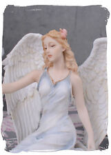 Schutzengel Figur Vintage Engel Jugendstil Frauenfigur Antik Weihnachtsengel
