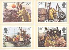 GB 1981 PHQ Cards Mint Set~Fishing~(4)~PHQ-55~UK Seller
