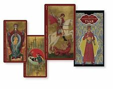 Golden Tarot of the Tsar [With Instruction Booklet] (Mixed Media Product)