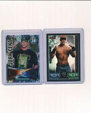 2008 2014 Topps WWE Slam Attax Foil John Cena Lot of 2