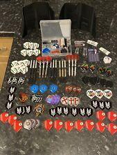 New listing Darts Bundle - Winmau, Hardcore, Red Dragon, Darts, Flights, Cases & Pro Kit