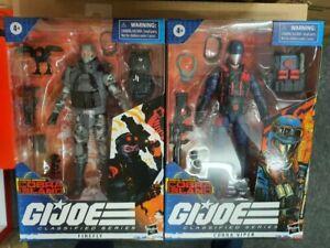 Hasbro GI G.I. Joe Classifieds Cobra Island Cobra Viper & firefly Set of 2 MISB