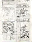 SILVER+SURFER++1990s+4+pg+prelim+TOM+GRINDBERG++++original+comic+art+++