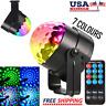 Disco Party Lights Strobe LED Dj Ball Sound Activated Bulb Lamp Dance Decoration