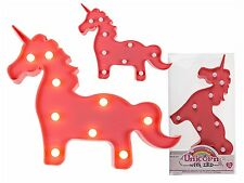 Luces de Decoración Lámpara de pared lámpara de mesa, pinkfarbenes Unicornio, 9