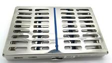 Dental Sterilization Cassette Autoclave Tray Rack Of 7 Premium Instruments