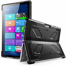 MicroSoft Surface Pro 4 Case Cover 2016 Release Kickstand Dual Layer Shockproof
