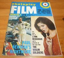 PHOTOPLAY MAGAZINE OCT 1969 LYNN REDGRAVE PAUL NEWMAN FRONT COVER