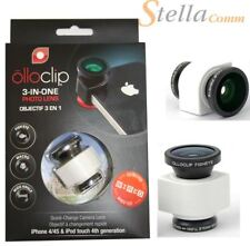 Olloclip 3-in-1 Macro/Fisheye/Wide Angle Lens Solution iPhone 4/4s White/Black