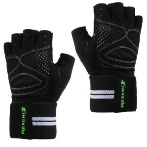 Full Palm Protection for Weightlifting Training Fitness Gym Wrist Wrap Gloves