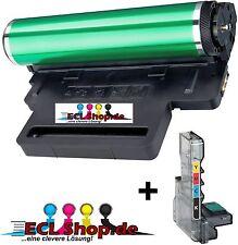 1x Bildeinheit + Resttonerbehälter für SAMSUNG CLX-3185FW komp. zu CLT-R407