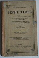 Petite Flore - Gaston Bonnier -  Les Plantes les plus Connues 898 Figures - 1926