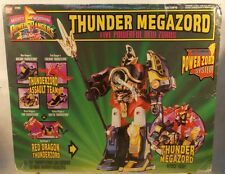 Mighty Morphin Power Rangers Thunder Megazord MMPR Red Dragonzord Bandai (MISB)