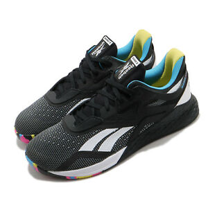 Reebok Nano X 10 Black White Blue Men Cross Training Fitness Shoe Sneaker FW8127