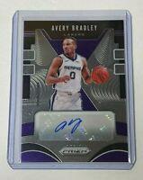 2019-20 Panini Prizm Basketball AVERY BRADLEY autograph lakers