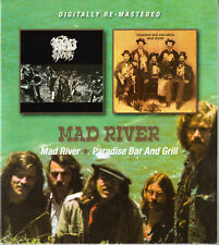 MAD RIVER - same / paradise bar and grill  (2 on 1)  - remastered CD