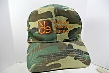 Dealers Electrical Supply Embroidered Adjustable Cap Camo Gold Lettering