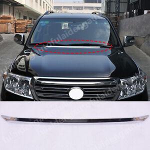 For Toyota Land Cruiser 2008-2021 Front Engine Hood Molding Trim Decor strips