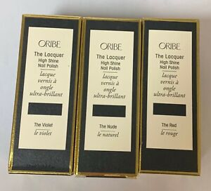 ORIBE THE LACQUER HIGH SHINE NAIL POLISH - YOU CHOOSE THE COLOR! FULL SIZE!