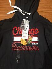 Chicago NHL Blackhawks Branded Freeline Pullover Hoodie Women's Size Large