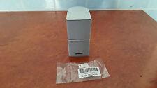 bose grey speakers. bose jewel cube speaker grey in color very rare model \ bose grey speakers