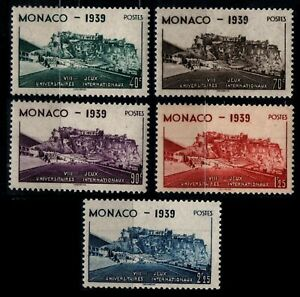 MONACO : Série 195 à 199, Neufs * = Cote 15 € / Lot Timbres DOM-TOM