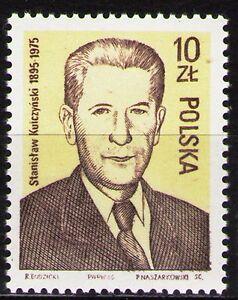 Poland 1986 Sc2725Mi3025 1v mnh S.Kulczynski,Politician,Scientist