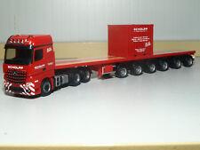 Herpa MB Arocs 6x4 Ballasttrailer-Sattelzug mit 10 ft. Container Scholpp 308786