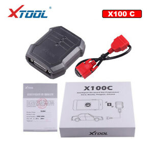 XTOOL X100 C PIN Code Reader Key Programming Diagnostic Scanner For Ford/Mazda
