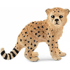 Schleich Wild Life Cheetah Cub Animal Figure NEW