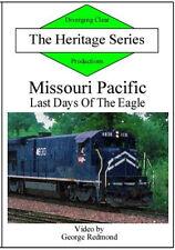 Missouri Pacific Railroad Last Days of the Eagle DVD NEW MoPac Salem IL MO