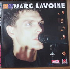 MARC LAVOINE LIVE GATEFOLD COVER SKYROCK M6 FRENCH LP