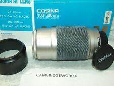100-300mm F5.6-6.7 AF MACRO ZOOM Lens For Sony ALPHA  Minolta maxxum by Cosina