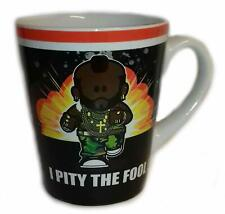 WEENICONS I PITY THE FOOL MR T A TEAM RETRO COFFEE MUG CUP NEW IN GIFT BOX
