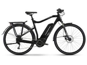 B-Ware: Haibike SDURO Trekking 1.0 (400Wh) E-Bike Herren, R: 60cm, schwarz/