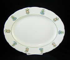 "ROYAL CAULDON ENGLAND BRISTOL/JUNE GARDEN 13"" Oval Platter"