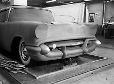 1955 Chevrolet Clay Model Mockup GM Design Department 8 x 10 Photograph