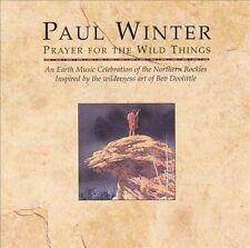 Prayer for the Wild Things by Paul Winter (Sax) (CD, Nov-1994, Living Music)